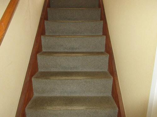 階段フロア施工前