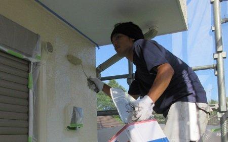 塗装作業1