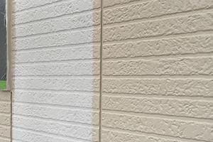 凹凸のある外壁でも対応可能な塗料